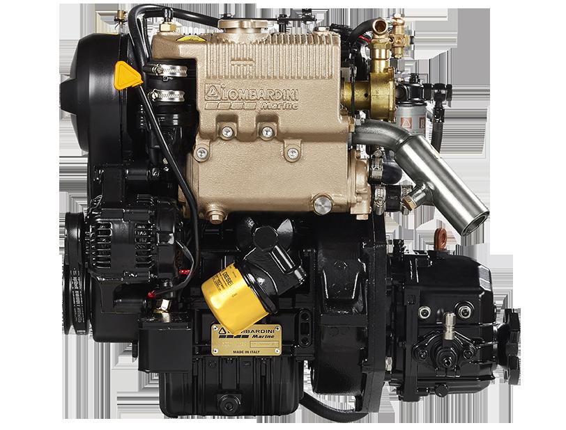 Lombardini Marine moottorit